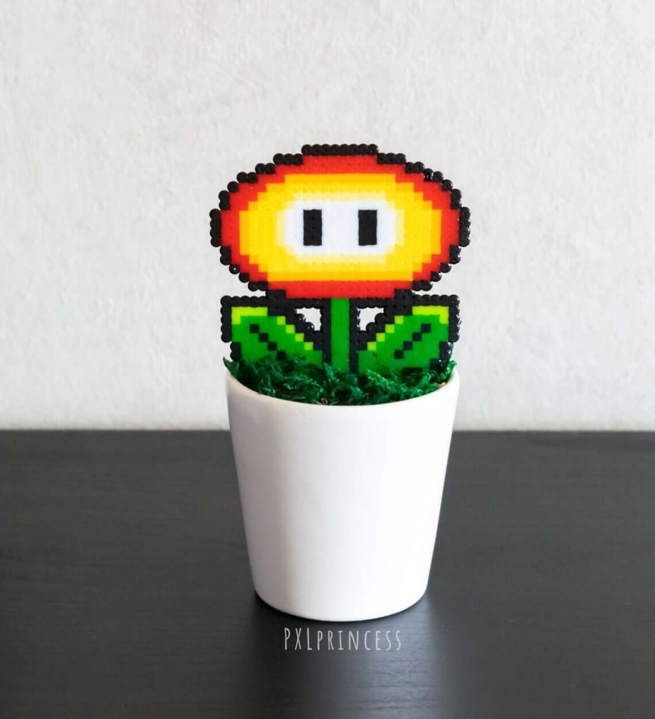 Pixel Plants Super Mario